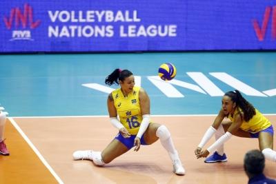 Barueri (SP) - 16.05.2018 - Liga das Nações - Brasil x Japão