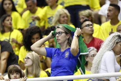 Barueri (SP) - 17.05.2018 - Liga das Nações - Brasil x Sérvia