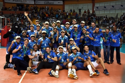 Ribeirão Preto (SP) - 21.04.2018 - Final Superliga B masculina - Vôlei Ribeirão x Vôlei UM Itapetininga
