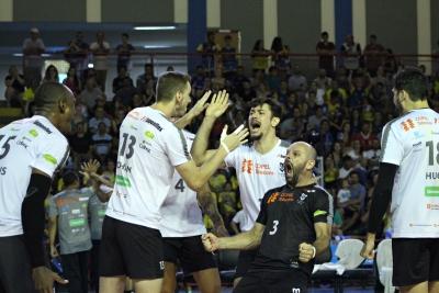 Lages (SC) - 26.01.2019 - Copa Brasil masculina - Sada Cruzeiro x Copel Telecom Maringá Vôlei