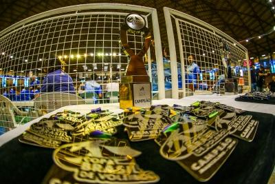 Lages (SC) - Copa Brasil masculina - Final - Sada Cruzeiro x Fiat/Minas