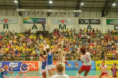 Gramado (RS) - Copa Brasil feminina - Semifinal - Itambé Minas x Osasco-Audax