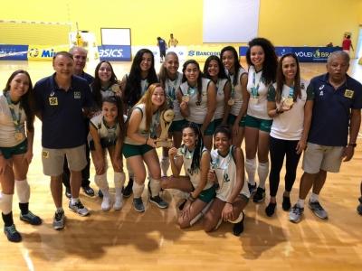 Saquarema (RJ) - 24.02.2019 - Campeonato Brasileiro de Seleções Sub-18 feminino 1a Divisão