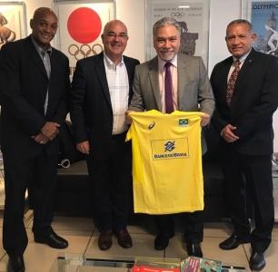 Brasília (DF) - 02.04.2019 - Encontro na Secretaria Especial de Esportes