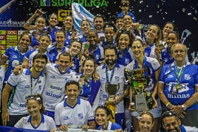 Uberlândia (MG) - 26.04.2019 - Final da Superliga Cimed feminina - Dentil/Praia Clube x Itambé/Minas - Galeria 2
