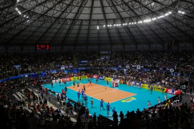 Suzano (SP) - 04.05.2019 - Final Superliga Cimed Masculina 18/19 - Jogo 4 - EMS Taubaté Funvic x Sesi-SP
