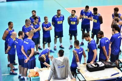 Campinas (SP) - Treino da seleção brasileira masculina