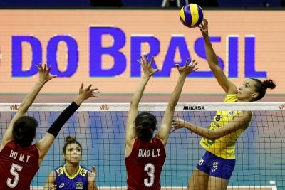 Brasília (DF) - 21.05.2019 - Liga das Nações - Brasil x China
