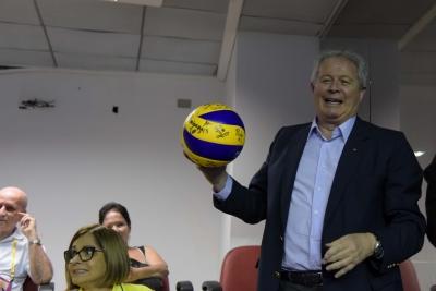 Brasília (DF) - 23.05.2019 - Liga das Nações - Brasil x Rússia