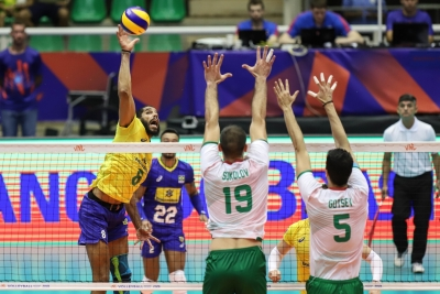 Cuiabá (MT) - 21.06.2019 - Brasil x Bulgária - Liga das Nações