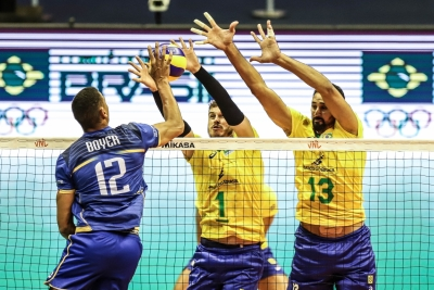 Brasília (DF) - 28.06.2019 - Liga das Nações - Brasil x França