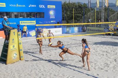 Saquarema (RJ) - 17.09.2020 - Circuito Brasileiro de Vôlei de Praia - Qualyfing Feminino