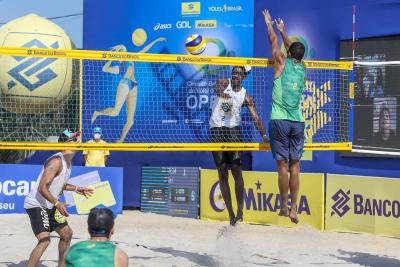 Saquarema (RJ) - 26.09.2020 -Circuito Brasileiro Open de Vôlei de Praia - Torneio Masculino