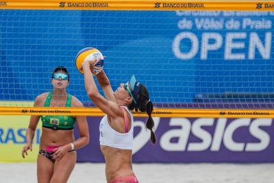 Saquarema (RJ) - 16.10.2020 -Circuito Brasileiro Open de Vôlei de Praia - Torneio Feminino