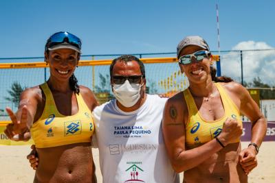 Saquarema (RJ) - 17.10.2020 -Circuito Brasileiro Open de Vôlei de Praia - Torneio Feminino