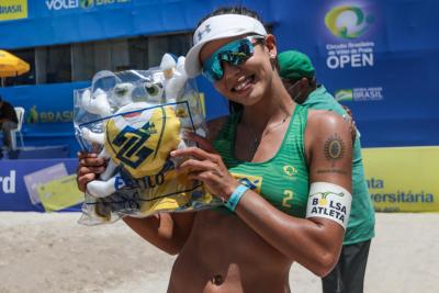 Saquarema (RJ) - 18.10.2020 -Circuito Brasileiro Open de Vôlei de Praia - Torneio Feminino