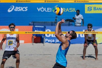 Saquarema (RJ) - 22.10.2020 -Circuito Brasileiro Open de Vôlei de Praia - Qualifying Masculino