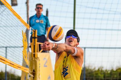 Saquarema (RJ) - 23.10.2020 -Circuito Brasileiro Open de Vôlei de Praia - Torneio Masculino