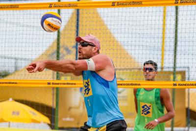 Saquarema (RJ) - 24.10.2020 -Circuito Brasileiro Open de Vôlei de Praia - Torneio Masculino
