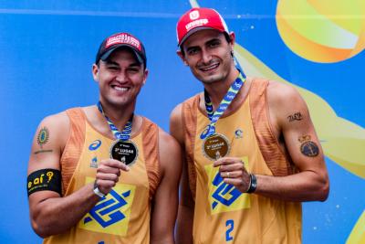 Saquarema (RJ) - 25.10.2020 -Circuito Brasileiro Open de Vôlei de Praia - Torneio Masculino