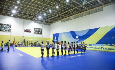 Saquarema (RJ) - 29.10.2020 - Troféu Super Vôlei Banco do Brasil Feminino - Dentil/Praia Clube x Curitiba Vôlei