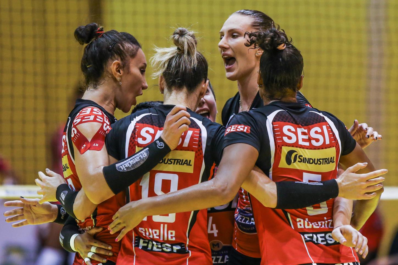 Saquarema (RJ) - 29.10.2020 - Troféu Super Vôlei Banco do Brasil Feminino - Sesi Vôlei Bauru x Osasco São Cristóvão Saúde