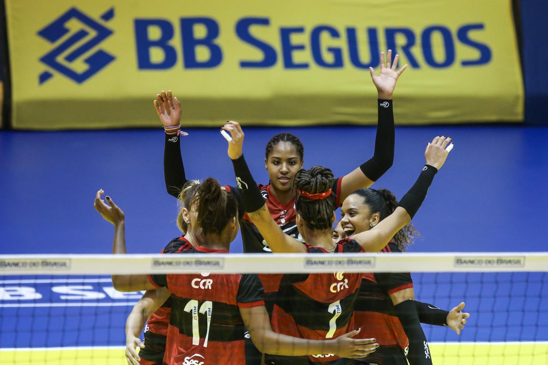 Saquarema (RJ) - 30.10.2020 - Troféu Super Vôlei Banco do Brasil Feminino - Sesc RJ Flamengo x Itambé/Minas