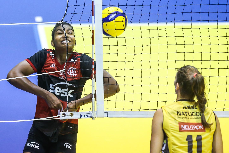 Saquarema (RJ) - 31.10.2020 - Troféu Super Vôlei Banco do Brasil Feminino - Sesc RJ Flamengo x Dentil/Praia Clube