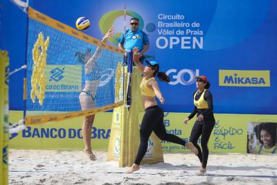 Saquarema (RJ) - 05.11.2020 - Circuito Brasileiro Open de Vôlei de Praia Qualifying Feminino