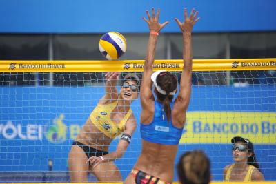 Saquarema (RJ) - 07.11.2020 - Circuito Brasileiro Open de Vôlei de Praia - Torneio Feminino