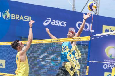 Saquarema (RJ) - 13.11.2020 - Circuito Brasileiro Open de Vôlei de Praia Torneio Masculino