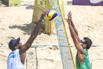 Saquarema (RJ) - 14.11.2020 - Circuito Brasileiro Open de Vôlei de Praia Torneio Masculino