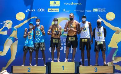 Saquarema (RJ) - 15.11.2020 - Circuito Brasileiro Open de Vôlei de Praia Torneio Masculino