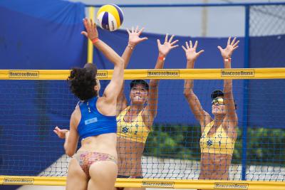 Saquarema (RJ) - 20.11.2020 - Circuito Brasileiro Open de Vôlei de Praia - Torneio Feminino