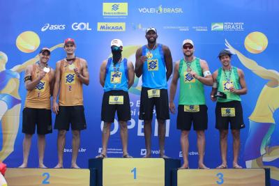 Saquarema (RJ) - 13.12.2020 - Circuito Brasileiro Open de Vôlei de Praia Torneio Masculino