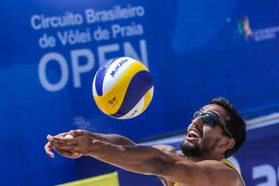 Saquarema (RJ) - 25.02.2021 - 7ª Etapa Open Circuito Brasileiro de Vôlei de Praia - Qualyfing Masculino