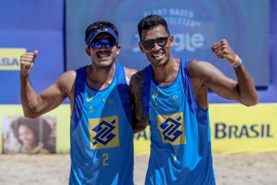 Saquarema (RJ) - 22.01.2021 - 8ª Etapa Open Circuito Brasileiro de Vôlei de Praia - Qualyfing Masculino