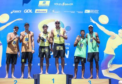 Saquarema (RJ) - 25.03.2021 - 8ª Etapa Open Circuito Brasileiro de Vôlei de Praia - Torneio Masculino