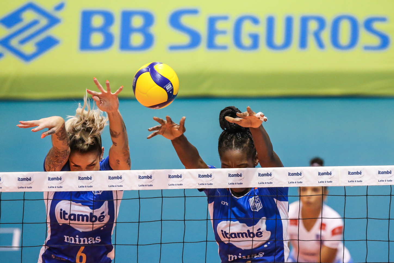 Saquarema (RJ) - 27.03.2021 - Superliga Banco do Brasil 20/21 - Itambé/Minas x Sesi Vôlei Bauru
