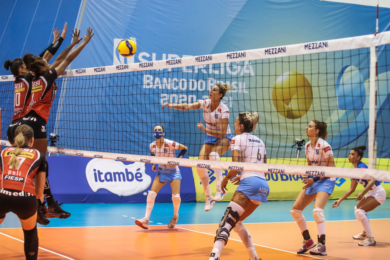 Saquarema (RJ) - 28.03.2021 - Superliga Banco do Brasil feminina - Sesi Vôlei Bauru x Itambé/Minas