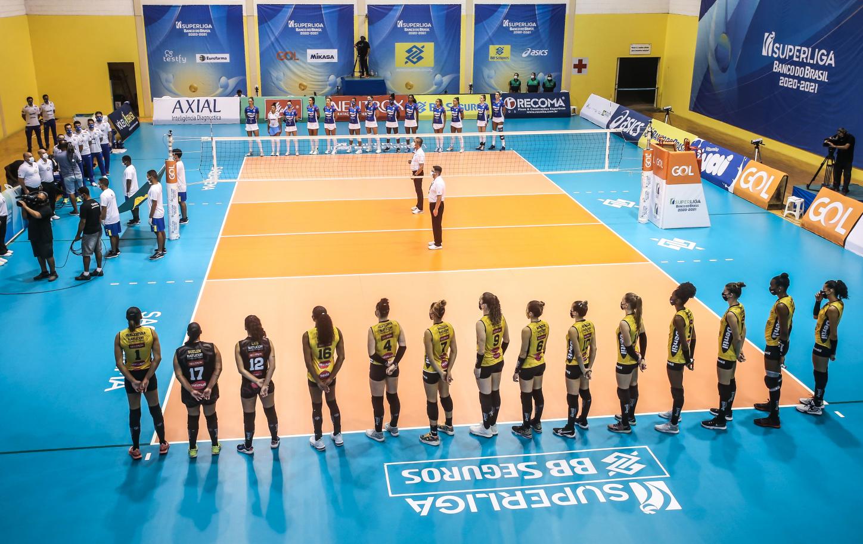 Saquarema (RJ) - 01.04.2021 - Superliga Banco do Brasil feminina - Itambé/Minas x Dentil/Praia Clube