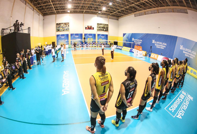 Saquarema (RJ) - 05.04.2021 - Superliga Banco do Brasil - Itambé/Minas x Dentil/Praia Clube
