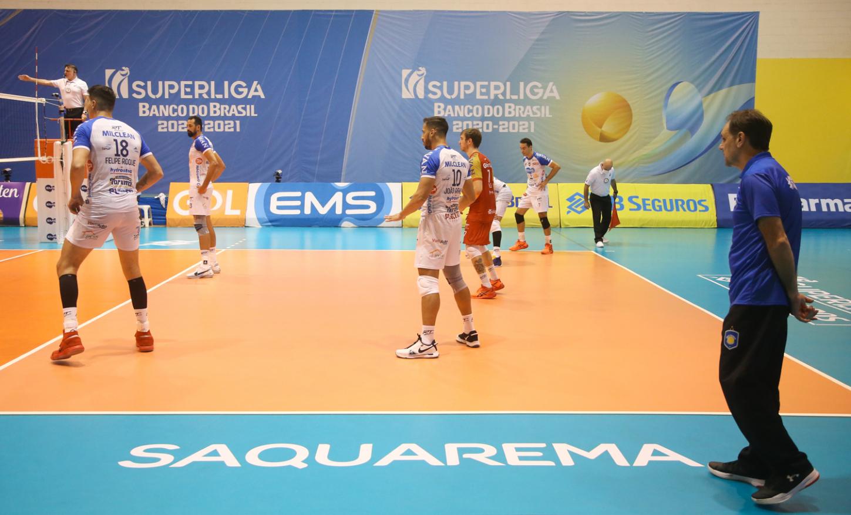 Saquarema (RJ) - 07.04.2021 - Superliga Banco do Brasil - EMS Taubaté Funvic x Vôlei Renata