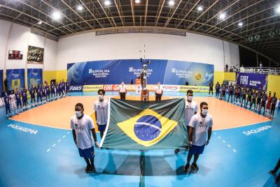 Saquarema (RJ) - 16.04.2021 - Superliga Banco do Brasil 20/21 - Minas Tênis Clube x EMS Taubaté Funvic