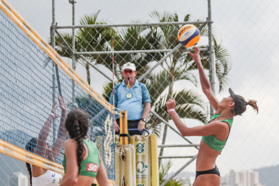 Rio de Janeiro (RJ) - 16.06.2021 - 9ª Etapa Open Circuito Brasileiro de Vôlei de Praia - Qualifying
