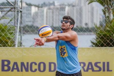 Rio de Janeiro (RJ) - 17.06.2021 - 9ª Etapa Open Circuito Brasileiro de Vôlei de Praia - Fase de grupos