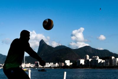 Rio de Janeiro (RJ) - 18.06.2021 - 9ª Etapa Open Circuito Brasileiro de Vôlei de Praia - Fase de grupos