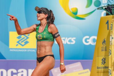Rio de Janeiro (RJ) - 20.06.2021 - 9ª Etapa Open Circuito Brasileiro de Vôlei de Praia - Torneio principal - Finais