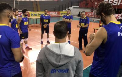 São Paulo (SP) - 02.07.2021 - Treino da seleção masculina