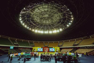 Brasília (DF) - 01.09.2021 - Sul-Americano masculino - Brasil x Peru